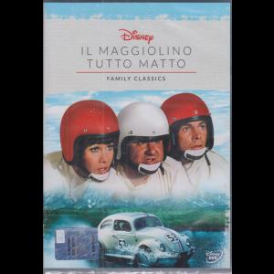 I Dvd Fiction di Sorrisi - n. 34 - 13/10/2020 - Il maggiolino tutto matto - Family Classics -