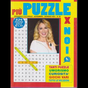 Piu' puzzle per noi - n. 83 - novembre - gennaio 2021 - 324 pagine