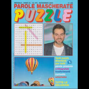 Parole Mascherate puzzle - n. 475 - mensile - novembre 2020
