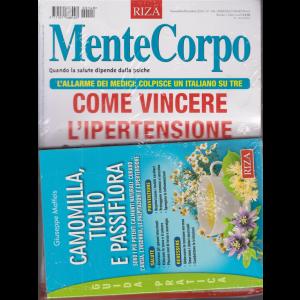 Mentecorpo -  Come vincere l'ipertensione + la guida pratica - Camomilla, tiglio e passiflora - n. 148 - bimestrale - novembre - dicembre 2020 - rivista + libro