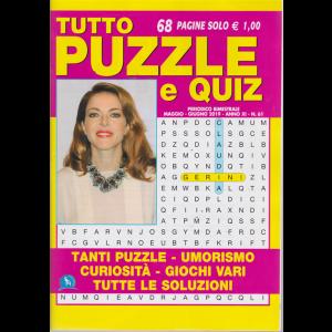 Tutto Puzzle E Quiz - n. 61 - bimestrale - maggio - giugno 2019 - 68 pagine
