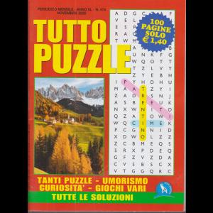 Tutto Puzzle - n. 474 - mensile - novembre 2020 - 100 pagine