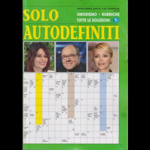 Solo Autodefiniti - n. 295 - mensile - novembre 2020 -
