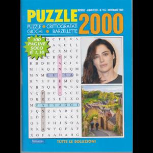 Puzzle 2000 - n. 355 - mensile - novembre 2020 - 100 pagine