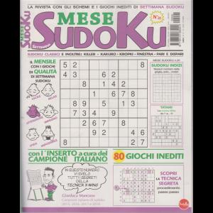 Settimana Sudoku Mese - n. 20 - mensile - 15/10/2020