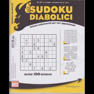 Solo sudoku diabolici - n. 27 - ottobre - dicembre 2020 - trimestrale