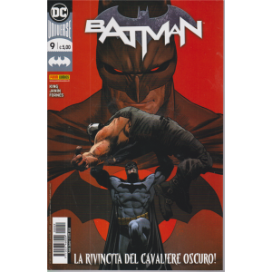 Batman - n. 9 - La rivincita del cavaliere oscuro! - quindicinale - 15 ottobre 2020