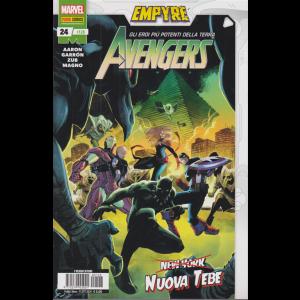 Avengers N. 24 / 128 - Nuova Tebe -  mensile - 15 ottobre 2020