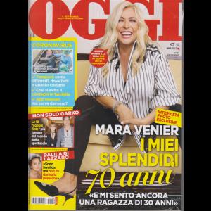 Oggi - Mara Venier - n. 42 - settimanale - 22/10/2020