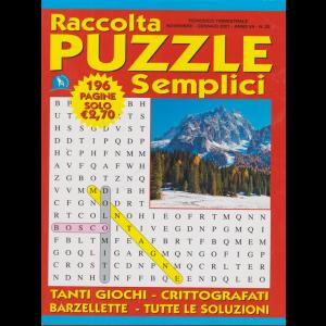 Raccolta Puzzle Semplici - n. 20 - trimestrale - novembre - gennaio 2021 - 196 pagine