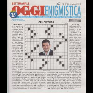 Settimanale Oggi Enigmistica - n. 43 - 27 ottobre 2020 -