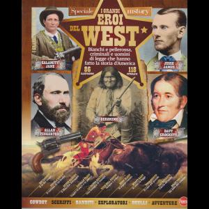 Conoscere la storia - I grandi eroi del west - n. 5 - bimestrale - ottobre - novembre 2020