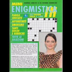 Mini Enigmistica In - n. 103 - bimestrale - novembre - dicembre 2020 - 68 pagine