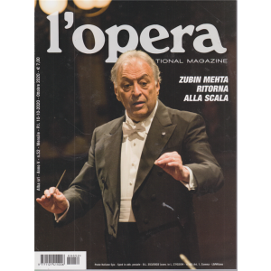 L'opera international magazine - n. 52 - mensile - 10/10/2020 -
