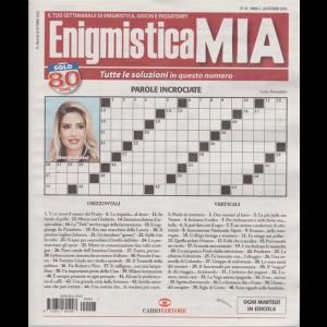 Enigmistica Mia - n. 43 - 26 ottobre 2020 - settimanale