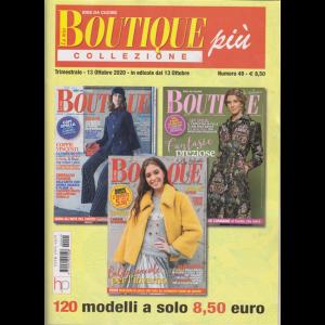 La mia boutique più collezione - n. 49 - trimestrale - 13 ottobre 2020 - 3 numeri