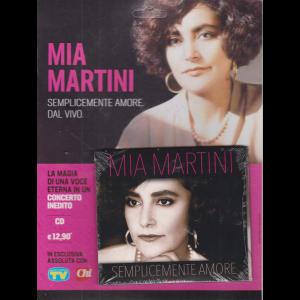Cd Sorrisi Canzoni -n. 19 -  Mia Martini - Semplicemente amore - ottobre 2020 - settimanale