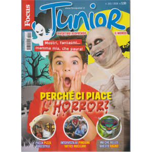 Focus Junior - n. 202/2020 - mensile