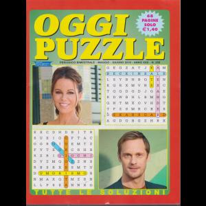 Oggi Puzzle - n. 259 - bimestrale - maggio - giugno 2019 - 68 pagine