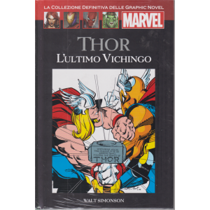 Graphic Novel Marvel - Thor - L'ultimo vichingo - n. 57 - 17/10/2020 - quattordicinale - copertina rigida