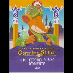 Gli stratopici viaggi di Geronimo Stilton - Il mistero del rubino d'oriente - n. 17 - 21/10/2020 - settimanale -