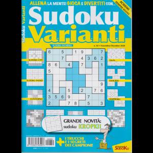 Sudoku Varianti - n. 50 - novembre - dicembre 2020 - bimestrale