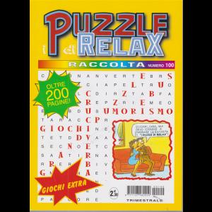 Raccolta I puzzle di Relax - n. 100 - trimestrale - ottobre - dicembre 2020 - oltre 200 pagine!