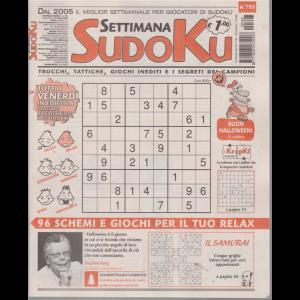 Settimana Sudoku - n. 793 - settimanale - 23 ottobre 2020