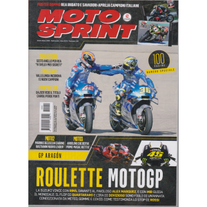 Motosprint - n. 42 - 20/26 ottobre 2020 - settimanale