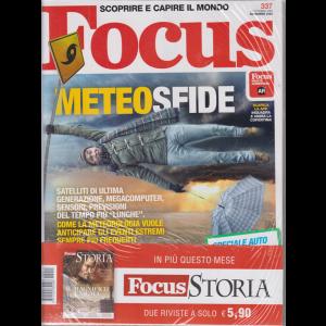 Focus + Focus Storia - n. 337 - novembre 2020 - mensile - 2 riviste