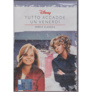 I Dvd Fiction di Sorrisi n. 35 - Tutto accadde un venerdi - Family Classics - 20/10/2020 - settimanale - Sesta uscita