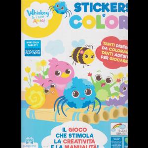 Whiskey & i suoi amici stickers e colori - n. 3 - ottobre - novembre 2020 - bimestrale -