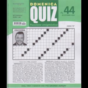 Abbonamento Domenica Quiz (cartaceo settimanale)