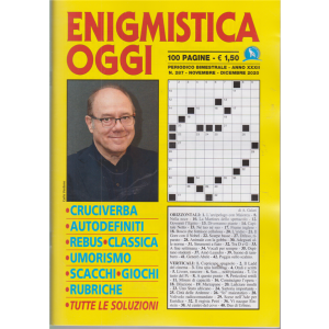 Enigmistica Oggi - n. 287 - bimestrale - novembre - dicembre 2020 - 100 pagine