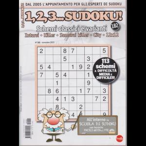 1,2,3 Sudoku! - n. 182 - novembre 2020 - mensile