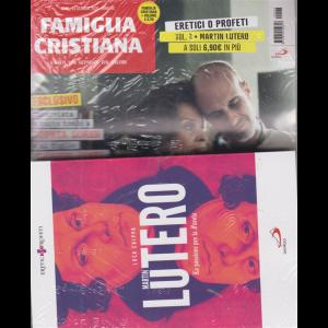 Famiglia cristiana + il libro Eretici o profeti - Martin Lutero - La passione per la parola - di Luca Crippa - n. 43 - 25 ottobre 2020 - settimanale