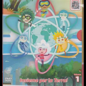I Dvd di Sorrisi5 - Meteoheroes - Insieme per la Terra! - Volume 1 - n. 11 - settimanale- 20/10/2020 -