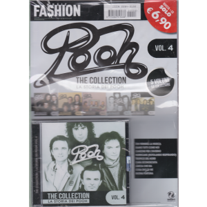 Music Fashion Var.68 - Pooh - The collection - La storia dei Pooh - vol. 4 - rivista + cd -