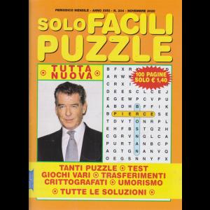 Solo Facili Puzzle - n. 204 - mensile - novembre 2020 - 100 pagine