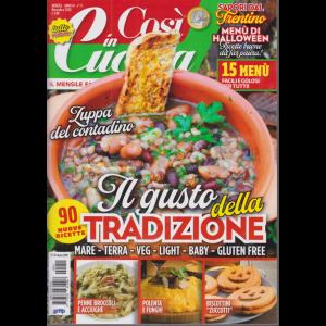 Cosi' in Cucina - n. 11 - mensile - novembre 2020 -