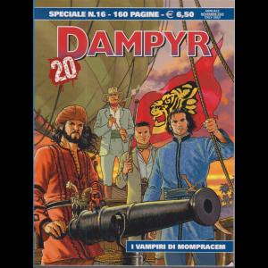 Dampyr Speciale - n. 16 - I vampiri di Mompracem - novembre 2020 - annuale - 160 pagine