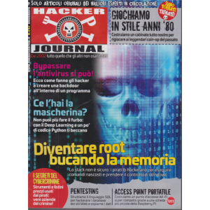 Abbonamento Hacker Journal (cartaceo  mensile)