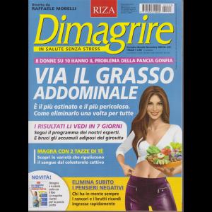 Dimagrire - n. 223 - Via il grasso addominale - mensile - novembre 2020