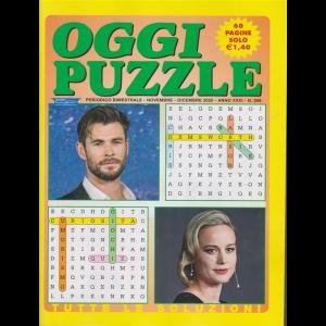 Oggi Puzzle - n. 268 - bimestrale - novembre - dicembre 2020 - 68 pagine