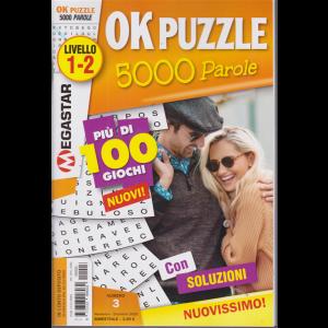 Ok Puzzle 5000 Parole - n. 3 -Livello 1-2 -  novembre - dicembre 2020 - bimestrale