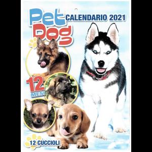 Calendario 2021 Pet Dog  cm. 24 x 34
