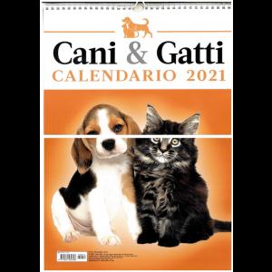 Calendario ani & Gatti 2021 - cm. 29 x 42 con spirale