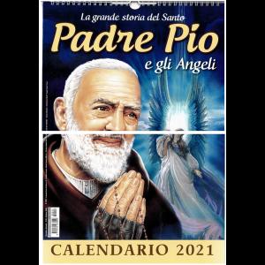 Calendario 2021 Padre Pio e Maria di Nazareth  - cm 29 x  42 c/spirale