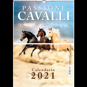 """Calendario 2021 """"Passione cavalli""""  -  cm. 29 x 42 - c/spirale"""