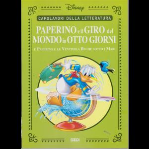 Capolavori della letteratura - Paperino e il giro del mondo in otto giorni e Paperino e le ventimila beghe sotto i mari - n. 33 - settimanale - 24/10/2020 -